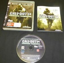 Call Of Duty 4: Modern Warfare ( Game of the year edition) Ps3