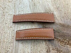 New, NOS Genuine Rolex Daytona 16518 16519 Tan Leather Strap OEM For Deployment