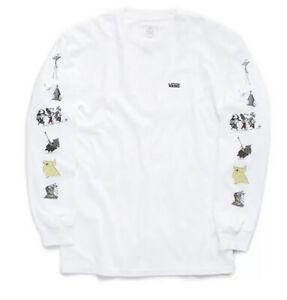 Vans x Disney Nightmare Before Christmas Long Sleeve T-Shirt Boys SZ XL New!!