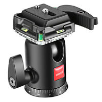 Neewer Camera Video Tripod Ball Head Ballhead with Quick Shoe Plate for Tripod