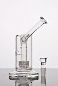 "Mobius 9"" Matrix Perc Glass Sidecar Bubbler Percolator Bong"