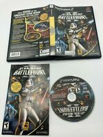 Sony PlayStation 2 PS2 CIB Complete Tested Star Wars Battlefront II 2 Ships Fast