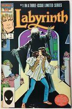 Labyrinth The Movie Adaptation Vol 1 #1 November 1986 American Marvel Comic Rare