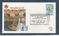 visite du Pape Jean-Paul II 1989   Madagascar