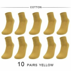 Socks Men's Cotton Spandex Colorful Japanese Casual 10 Pairs High Quality
