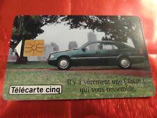 RARE TELECARTE 5 UNITES - GN 103 - LUXE - MERCEDES CLASSE C - Côte 12 euros
