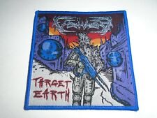 VOIVOD TARGET EARTH WOVEN PATCH