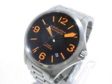 Auth HAMILTON Khaki Air Race H762350 Silver Men's Wrist Watch