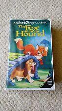 Walt Disney Classic The Fox And The Hound VHS Black Diamond