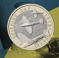 New UK 2018 Spitfire £2 Coin UK Royal Mint Official PRESENTATION PACK Christmas