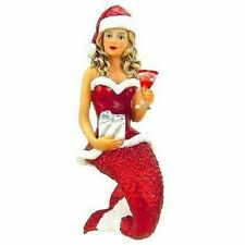 December Diamonds Santa Baby II Mermaid Christmas Tree Ornament New In Box