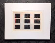 """Yaacov AGAM Agamograph titled """"After"""" from San Diego Museum, Signed Numbered COA"""