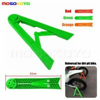 Motorcycle Parking Rack Triangle Side Kick Stand Kickstand For  Honda Green