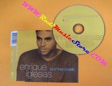 CD singolo ENRIQUE IGLESIAS RHYTHM DIVINE 1999 no mc lp vhs dvd (S1*)
