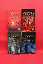 Jean-Christophe Grange - Lot de 4 - Livre - Occasion