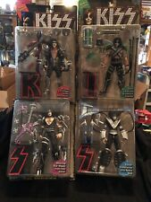 Kiss Ultra Action Figures Set of 4 from MacFarlane Toys Let's Rock with the Band
