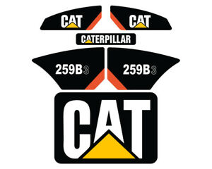 259B3 CAT Decals Stickers Skid Steer Set Kit - FREE SHIPPING