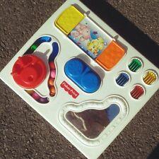 ☆ jouet ancien tableau d'éveil fisher price vintage déco enfant