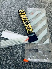 2019 BRAND NEW SEASON OFF WHITE ONE SIZE INDUSTRIAL BELT YELLOW COLOUR