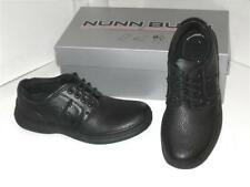 Nunn Bush Vince Black Tumbled Leather Oxfords Lace Up Casual Dress Shoes Mens 8