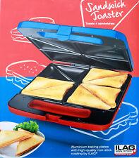 Sandwichtoaster Familiy Toaster Sandwichmaker XXL 4er-Sandwichtoaster 1400W