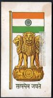 Flag And Standard - Banner For India c50 Y/O Trade Ad Card