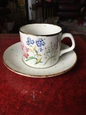J&G Meakin Lifestyle Wayside cup & saucer Jessie Tait