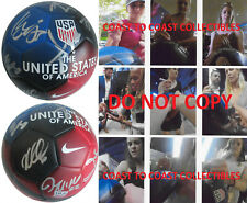 2019 Usa Women's National team signed, autographed, Usa soccer ball,Coa Proof