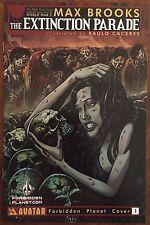 The Extinction Parade #1 - Forbidden Planet Variant Comic Book - Avatar Comics