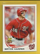 Bryce Harper 2013 Topps Series 1 ASR 2nd Year Card # 1 Nationals Baseball MLB