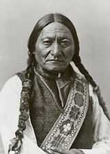 CHIEF SITTING BULL * Native American Indian LARGE A3 QUALITY CANVAS ART PRINT