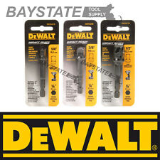 DeWalt Impact Driver Ready 3-Pc Socket Adapter Set DW2541IR, DW2542IR, DW2547IR
