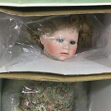 Hamilton Collection Heritage Dolls by Connie Derek Madeline Wooden Pony 20 inch