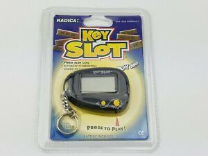 Radica Key Slot Video Slot Machine Electronic Keychain Game New Sealed