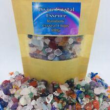 Rainbow Crystal Chips🌈💎Mixed Gemstones 100g Craft 🌈amethyst🌈Quartz🌈Citrine