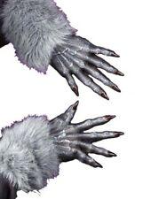 Halloween Grey Werewolf Gloves