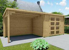 28237 28mm Gartenhaus mit Flachdach