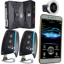 Bluetooth car alarm system smart phone car alarm online real time gps tracking