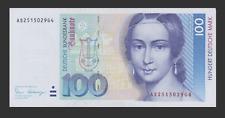 Germany 100 Deutsche Mark banknote 1989 Deutsche Bundesbank