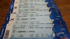 Ticket Germany Deutschland  Spain Espana World Cup 2019 WM WC Game 15