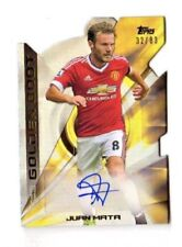 Premier League Manchester United Football Trading Cards & Stickers (Hard Signed