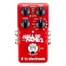 TC Electronic Hall of Fame 2 Reverb Guitar Effects Pedal HOF2