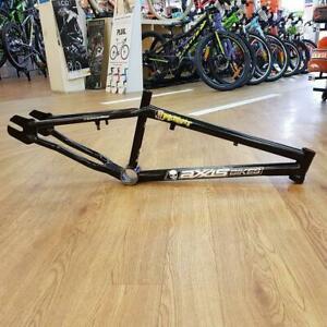 "Axxis Bikes 20.5"" Mutant NOS Mid School BMX Frame Gloss Black GT SE Racing"