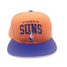 Adidas PHOENIX SUNS NBA Official Draft Cap Purple Orange Basketball Snap Back