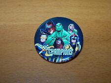 MARVEL COMICS CHAMPIONS HULK CYCLOPS NOVA 2016 COMIC CON PROMO BADGE BUTTON PIN