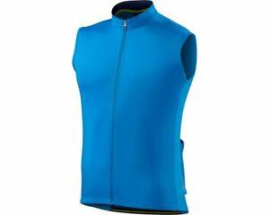 Specialized Men's RBX Sport Sleeveless Cycling Jersey Neon Blue / Navy - Medium