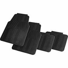 Car Black Rubber Floor Mat Set  fits Skoda Fabia Felicia Octavia