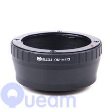 Dollice Olympus OM Lens to Micro Four Thirds 4/3 M4/3 Lens Adapter E-PM2 E-P3