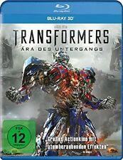 3 D Blu-ray * TRANSFORMERS 4 : ÄRA DES UNTERGANGS - 3D # NEU OVP +