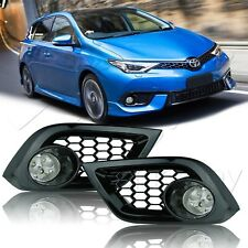 For 16 17 18 Scion Toyota Im Led Fog Lamps w/Wiring Kit & - Clear